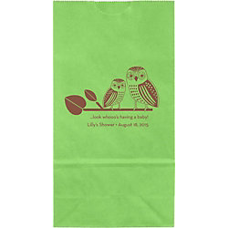 Owls Baby Shower Small Custom Favor Bags