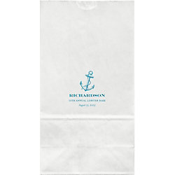 Anchor Large Custom Favor Bags