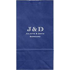Escorial Monogram Small Custom Favor Bags