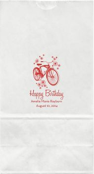 Bicycle Large Custom Favor Bags