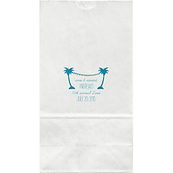 Palm Trees Large Custom Favor Bags