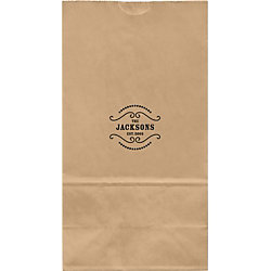 Saloon Large Custom Favor Bags