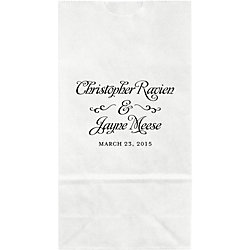 Grand Affair Small Custom Favor Bags