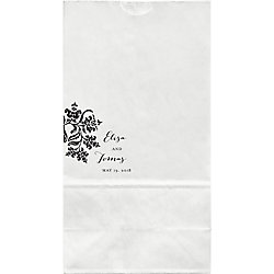 Colonial Stencil Large Custom Favor Bags