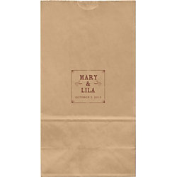 Bistro Large Custom Favor Bags