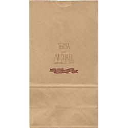 Homestead Large Custom Favor Bags