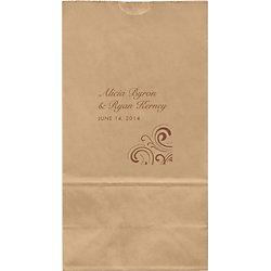 Swirls Large Custom Favor Bags