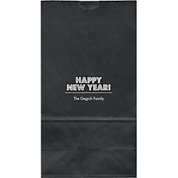 Budmo Happy New Year Large Custom Favor Bags