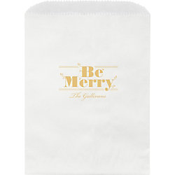 Be Merry Custom Wax Lined Bags