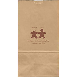 Naughty & Nice Large Custom Favor Bags