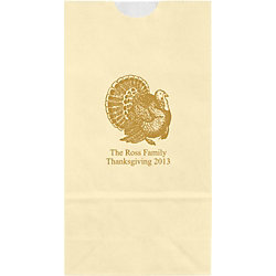 Turkey Small Custom Favor Bags
