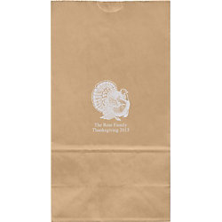 Turkey Large Custom Favor Bags