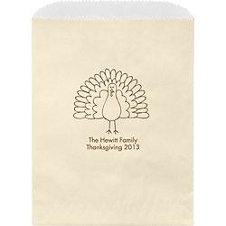 Sketch Turkey Custom Wax Lined Bags