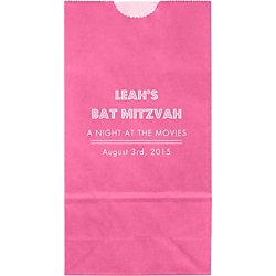 Lights Mitzvah Small Custom Favor Bags