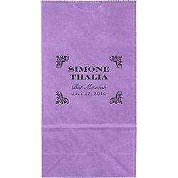 Carnival Mitzvah Small Custom Favor Bags