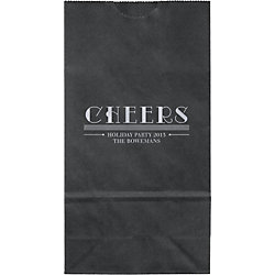 Cheers Small Custom Favor Bags