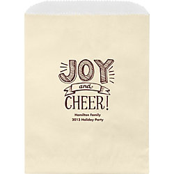Joy and Cheer Joy Wax Lined Bags