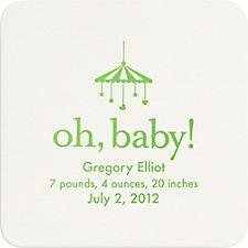 Oh Baby Custom Coasters