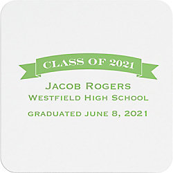 Class Of Graduation Custom Coasters