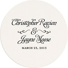Grand Affair Custom Coasters