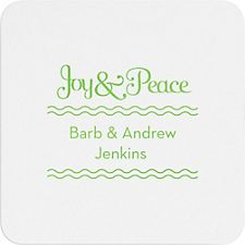 Joy & Peace Custom Coasters