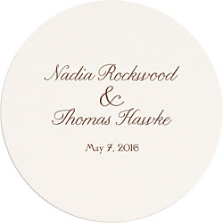 Modern Blush Custom Coasters