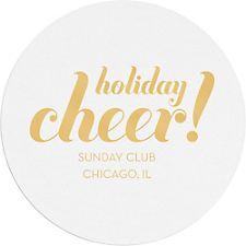 Holiday Cheer Custom Coasters