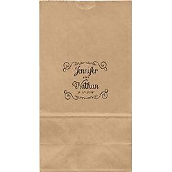 Chalk Swirl Large Custom Favor Bags