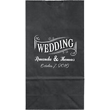 Wedding Banner Small Custom Favor Bags