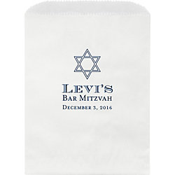 Traditional Mitzvah Custom Wax Lined Bags