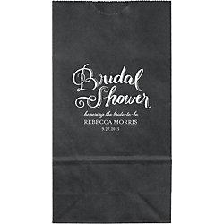 Chalk Bridal Shower Small Custom Favor Bags