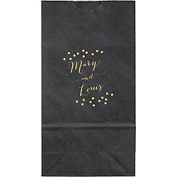 Confetti Names Small Custom Favor Bags