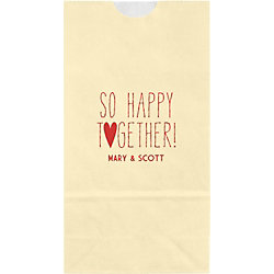 So Happy Together Small Custom Favor Bags