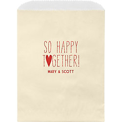 So Happy Together Custom Wax Lined Bags