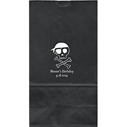 Ahoy Pirate Large Custom Favor Bags