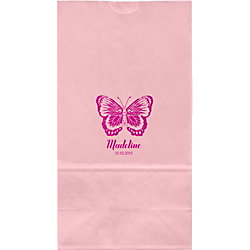 Butterfly Large Custom Favor Bags