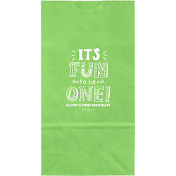 It's Fun To Be One Small Custom Favor Bags