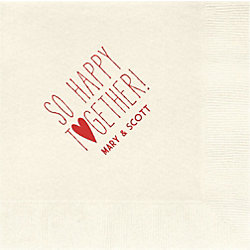 So Happy Together Custom Lunch Napkins