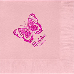 Butterfly Custom Lunch Napkins