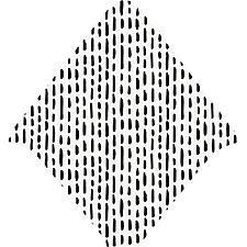 Dash Dots Print Envelope Liners