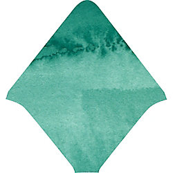 Green Watercolor Envelope Liners