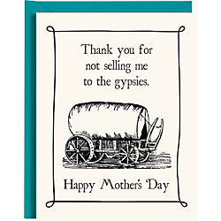 Gypsies Mother's Day Card