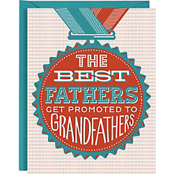 Grandfather Letterpress Father's Day Card