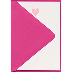 Blossom Heart 4 Bar Letterpress Stationery