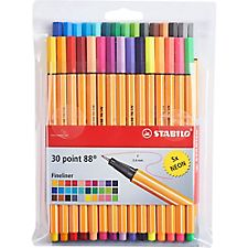 Stabilo Point 88 Fineliner Pen Set