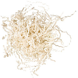Ivory Shredded Paper