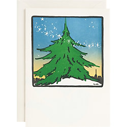 Spirit of the Season Letterpress Holiday Cards