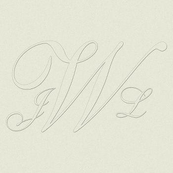 Shelley Custom Monogram Bottom Load Embossing Plates