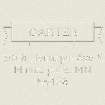 Banner Return Address Embosser