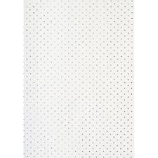 Silver Glitter Dots Wrapping Paper